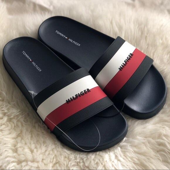 b8a33c2f Tommy Hilfiger Shoes   Slides Womens Sandals   Poshmark